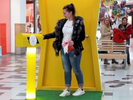 Mall Plovdiv Experiential Ad - The Door