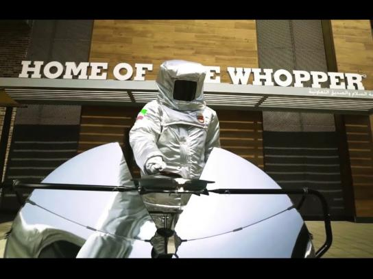 Burger King Film Ad - Sun Flame-Grilled Whopper