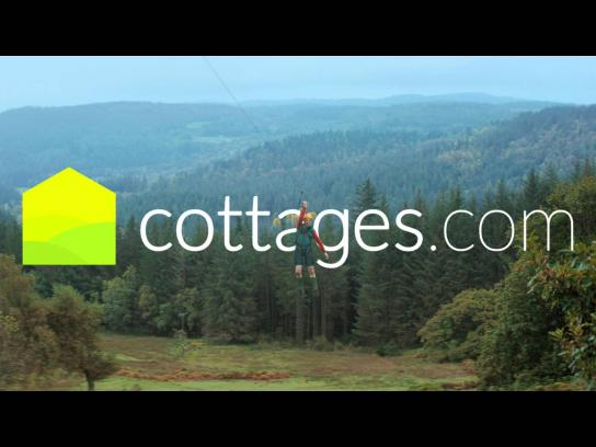 cottages.com Digital Ad -  Zip wire