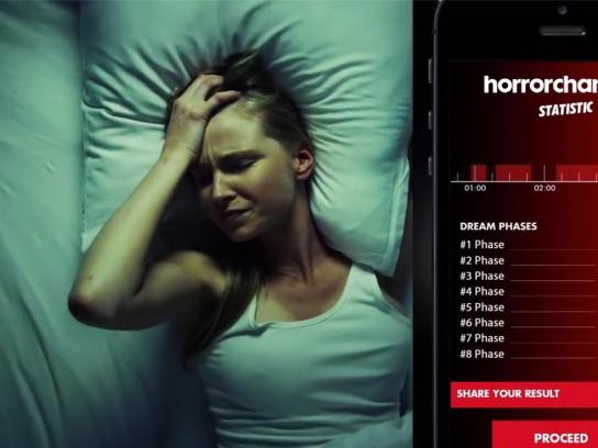 Horror Channel Digital Ad -  Night terror app