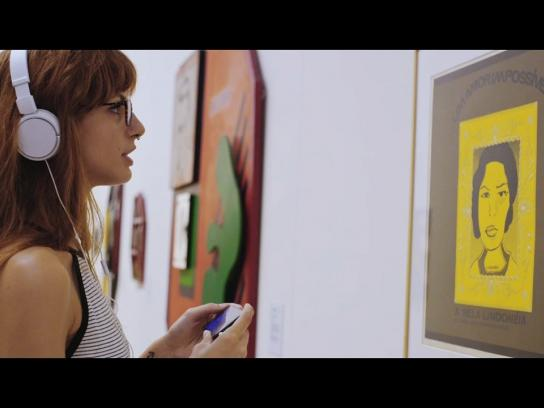 IBM Experiential Ad - The Voice of Art