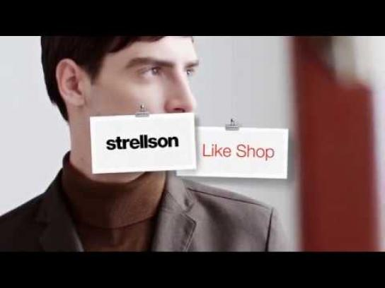 Strellson Digital Ad - The Strellson Like Shop