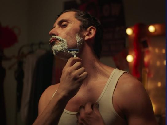 Gillette Film Ad - It Takes a Real Man