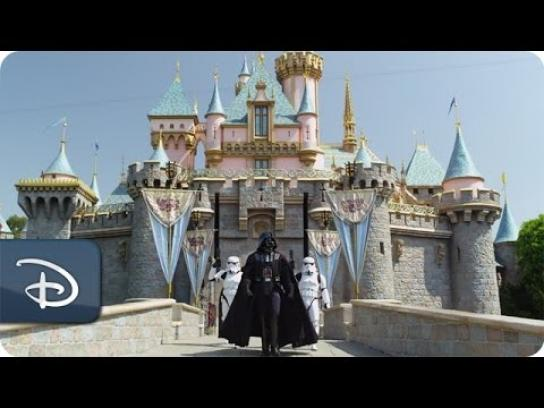 Disneyland Film Ad -  Darth Vader goes to Disneyland