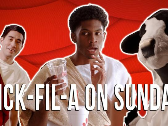 Chick-fil-A Film Ad - What Happens At Chick-Fil-A on Sunday?