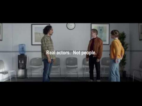 Progressive Insurance Film Ad - Real Actors