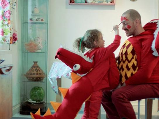 British Heart Foundation Film Ad -  Ramp up the red