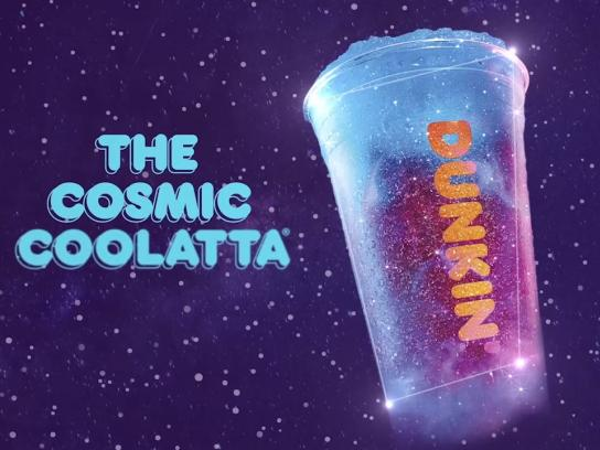 Dunkin' Experiential Ad - Cosmic Constellation Constellation