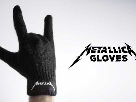 Metallica Integrated Ad - Gloves
