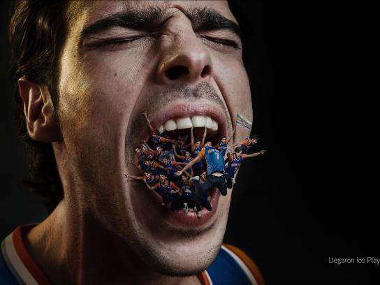 NBA Print Ad -  Let it all out, 1