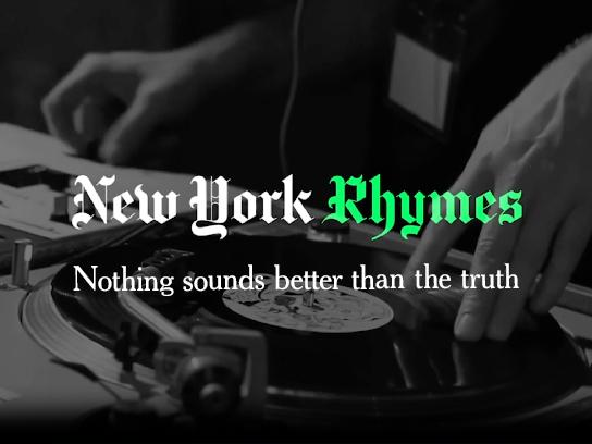The New York Times Film Ad - New York Rhymes