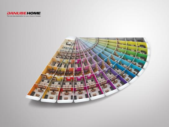 Danube Home Print Ad -  Office