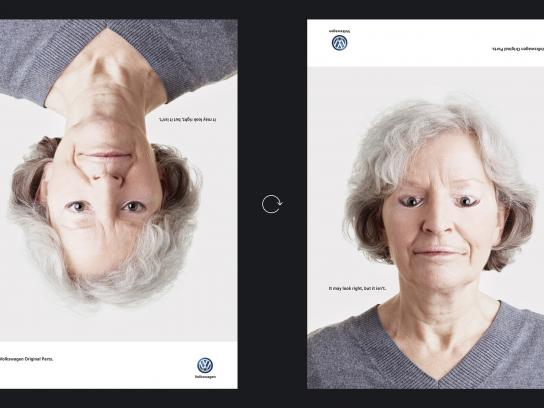 Volkswagen Print Ad - Wrong faces, 2