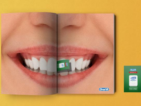 Oral-B Print Ad - Pick it Out