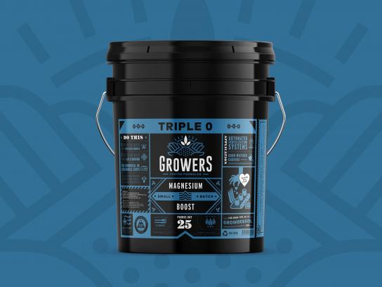 Growers Design Ad - Packaging and Website