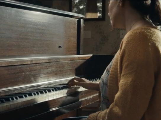 American Red Cross Film Ad - Piano
