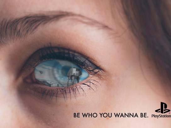 PlayStation Print Ad - Be Who You Wanna Be, 2