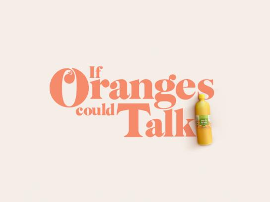 Frescampo Ambient Ad - If Oranges Could Talk