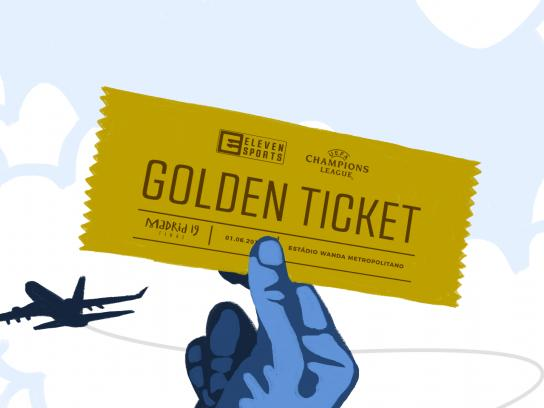 Eleven Sports Portugal Integrated Ad - Golden Ticket