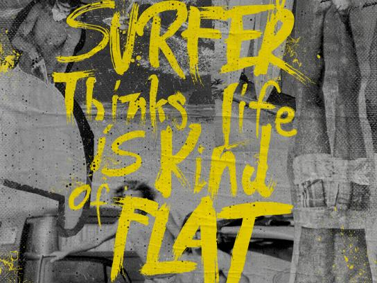 Rico Surf & Boards Print Ad - Get on Board, 2