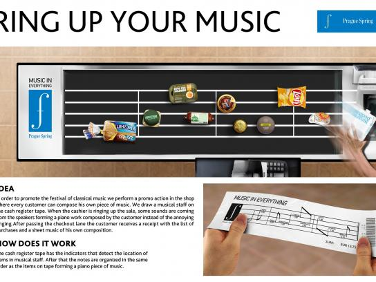Prague Spring Classic Music Festival Ambient Ad -  Ring up your music