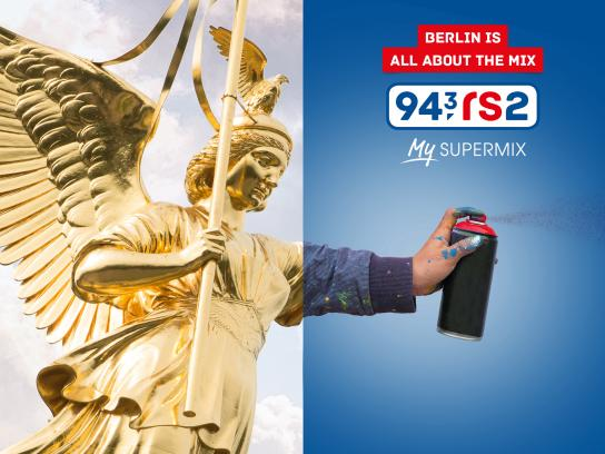 94 Print Ad - The best about Berlin is the mix, 2