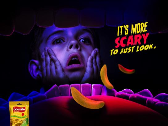 Adoralle Print Ad - Scared Boy