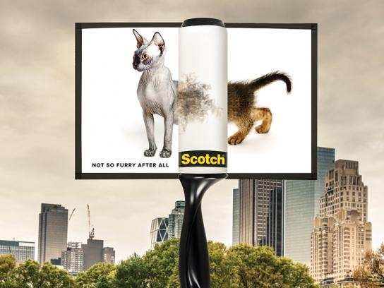 Scotch Outdoor Ad - Furry Situation, 1