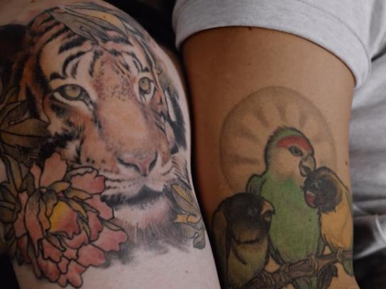 Lynx Film Ad - Tattoos Come to Life