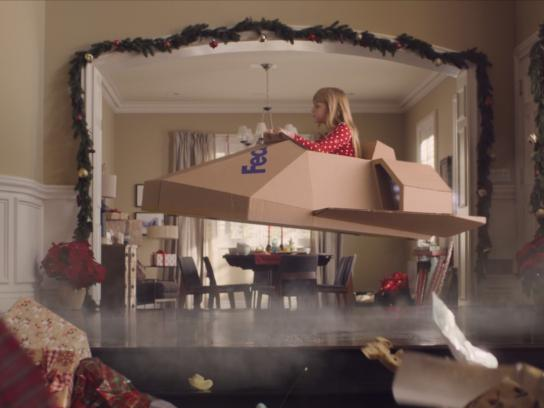 FedEx Film Ad - Gift Box