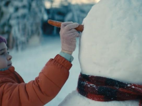 France Televisions Film Ad - Snowman
