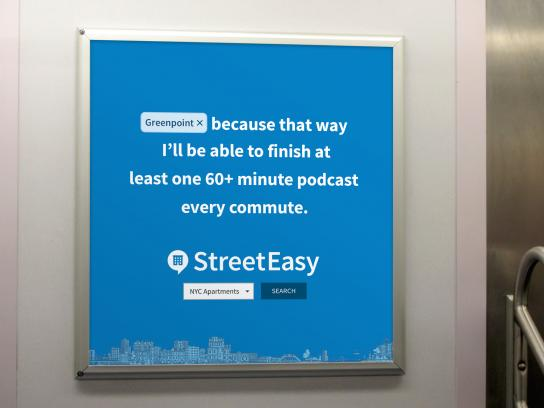 StreetEasy Outdoor Ad - Find Your Place, 4