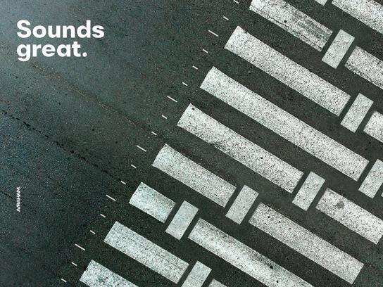 Seat Print Ad - The Sound of the Street