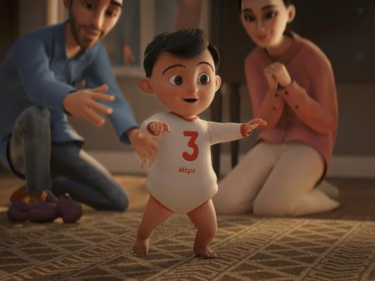 Ooredoo Film Ad - The life of the internet