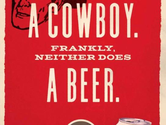 Howdy Beer Integrated Ad - New West
