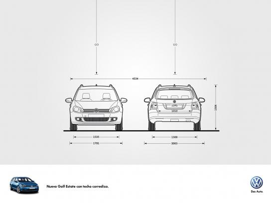 Volkswagen Print Ad -  Concept for new models with sunroof, 2