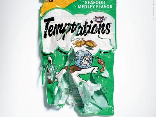 Temptations Outdoor Ad -  Seafood
