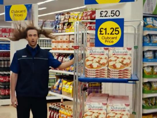 Tesco Film Ad - The Power to Lower Prices