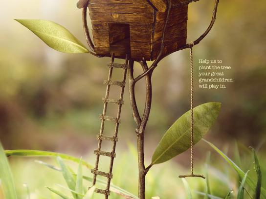 Trees For Cities Print Ad -  Treehouse