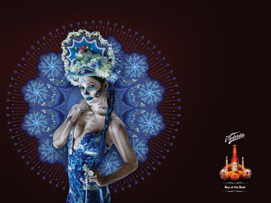 Victoria Print Ad -  Day of the Dead, 3
