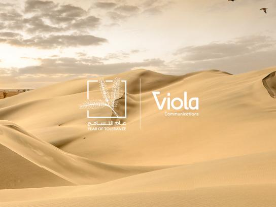 Viola Communication Digital Ad - Year of Tolerance