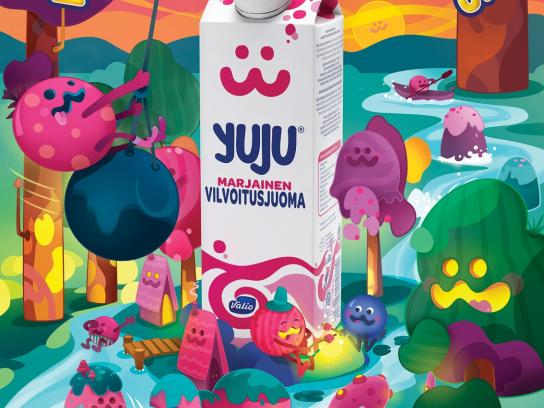 Yuju Print Ad -  Easy to drink hard to explain, 1