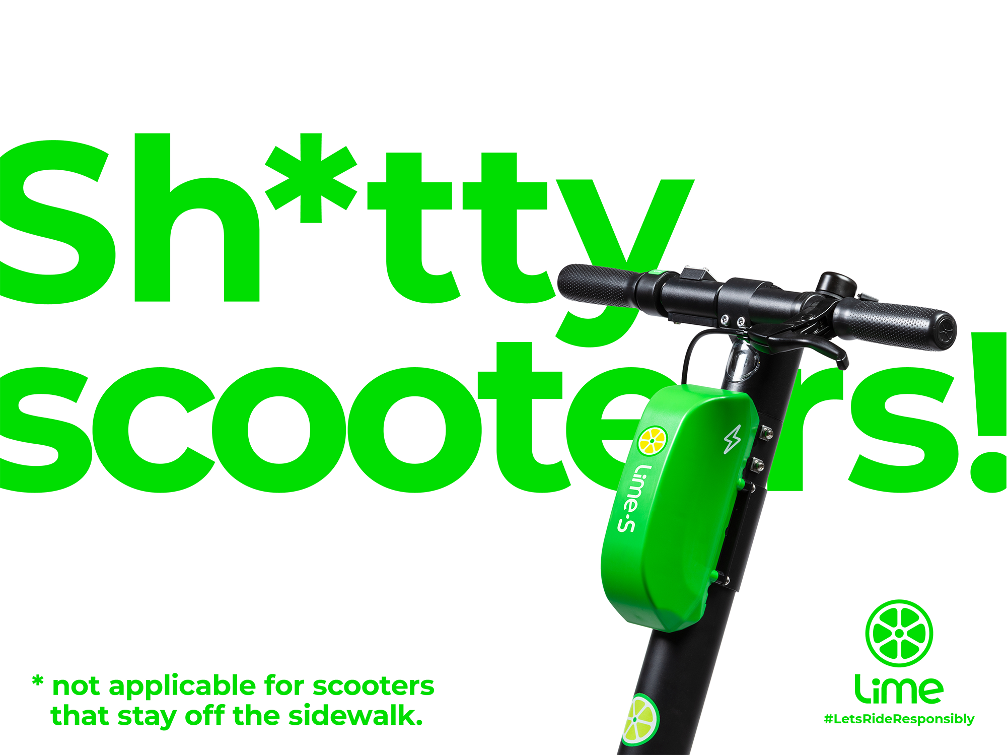 Lime: SH*TTY SCOOTERS