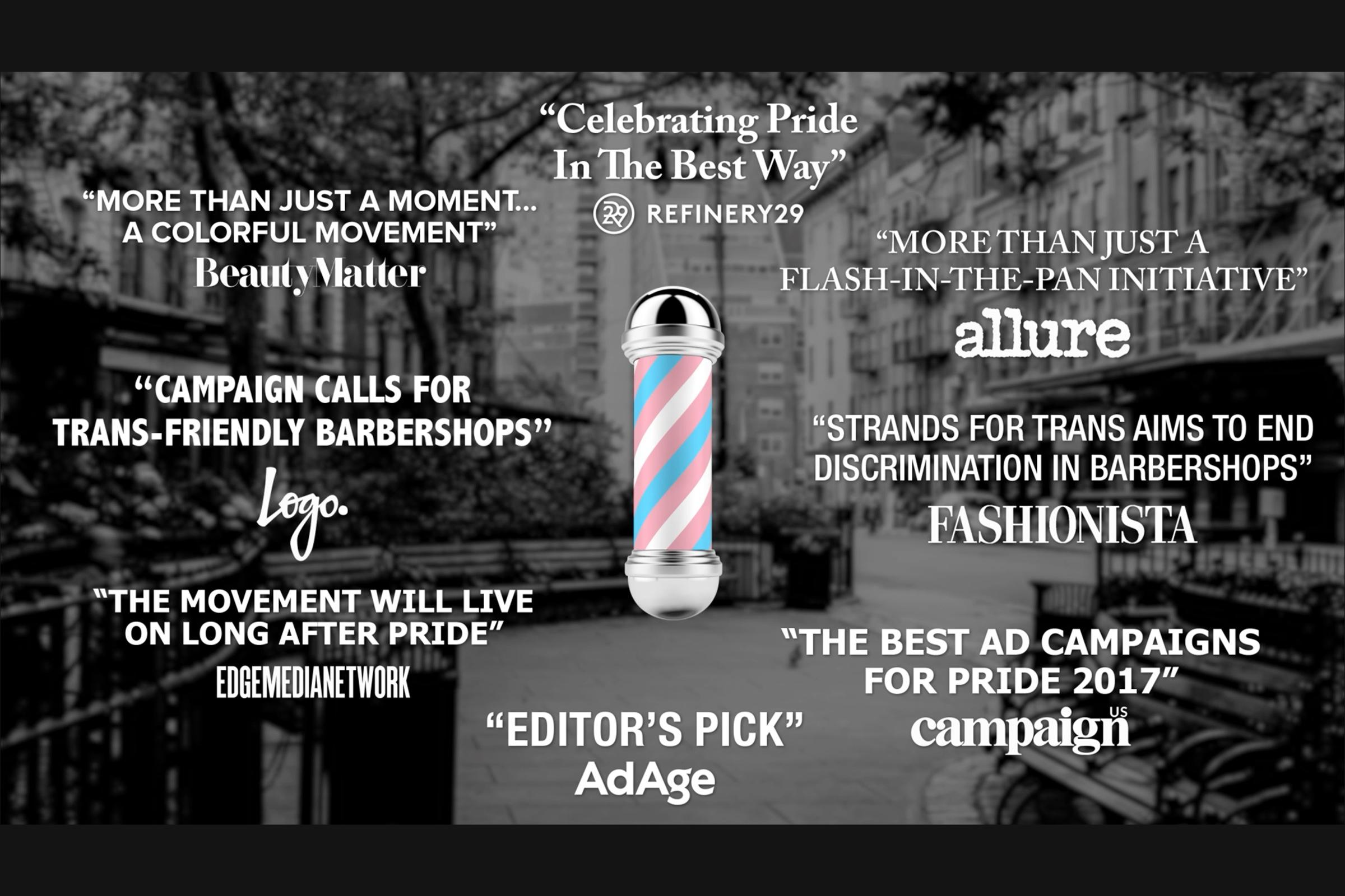 Barba Men's Grooming Boutique: Strands For Trans