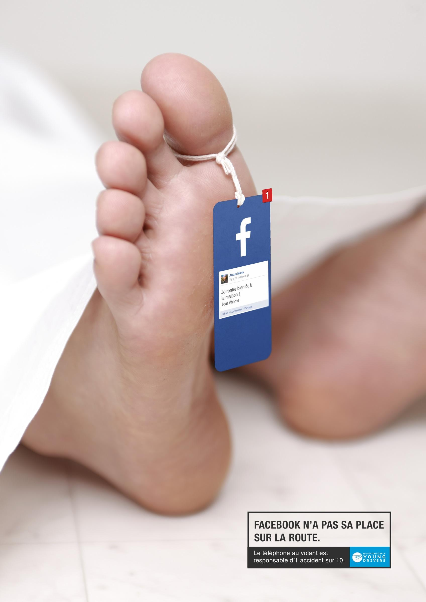 Responsible Young Drivers:  Facebook