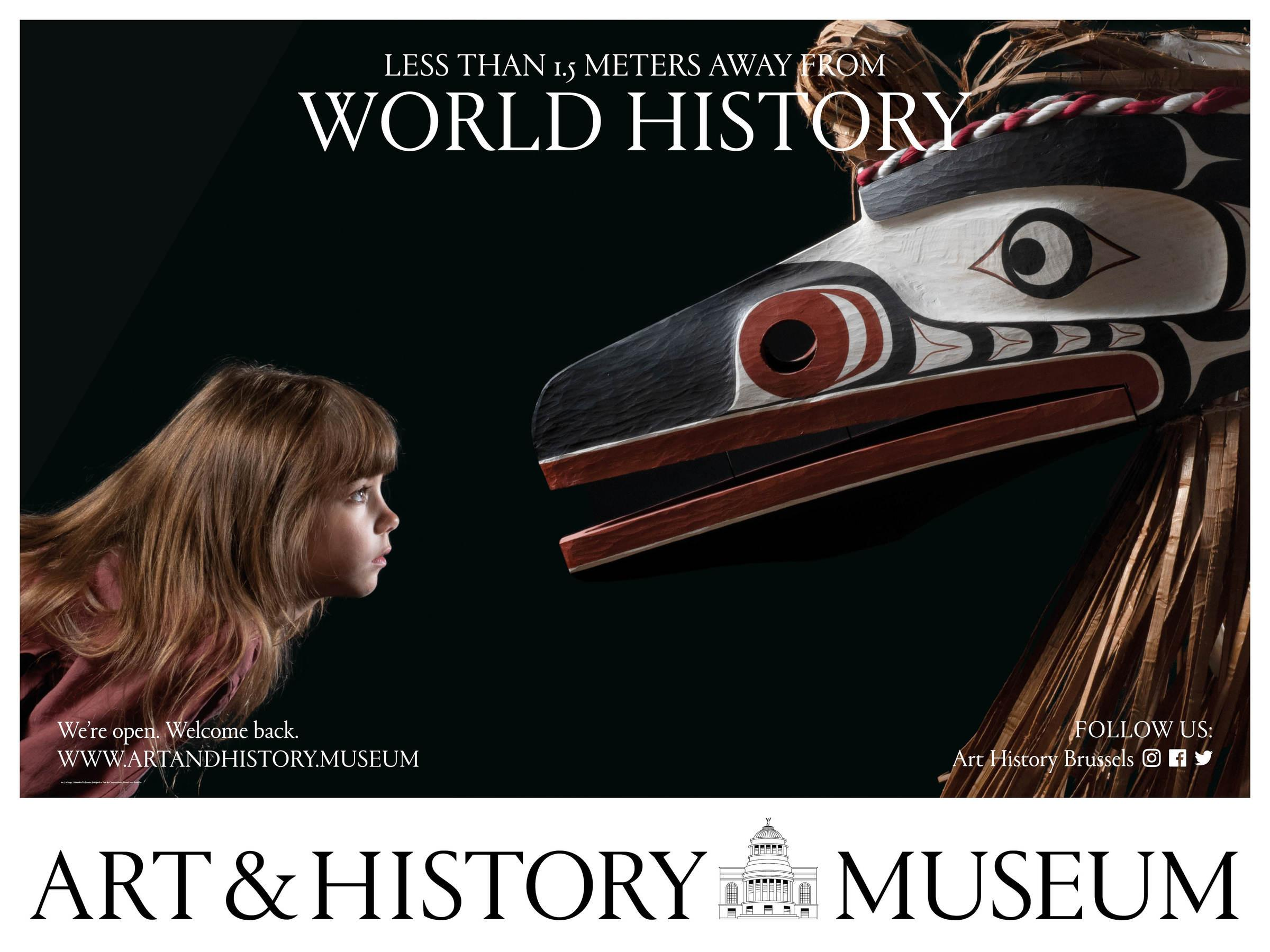 Art & History Museum: Less Than 1.5 Meters Away From World History