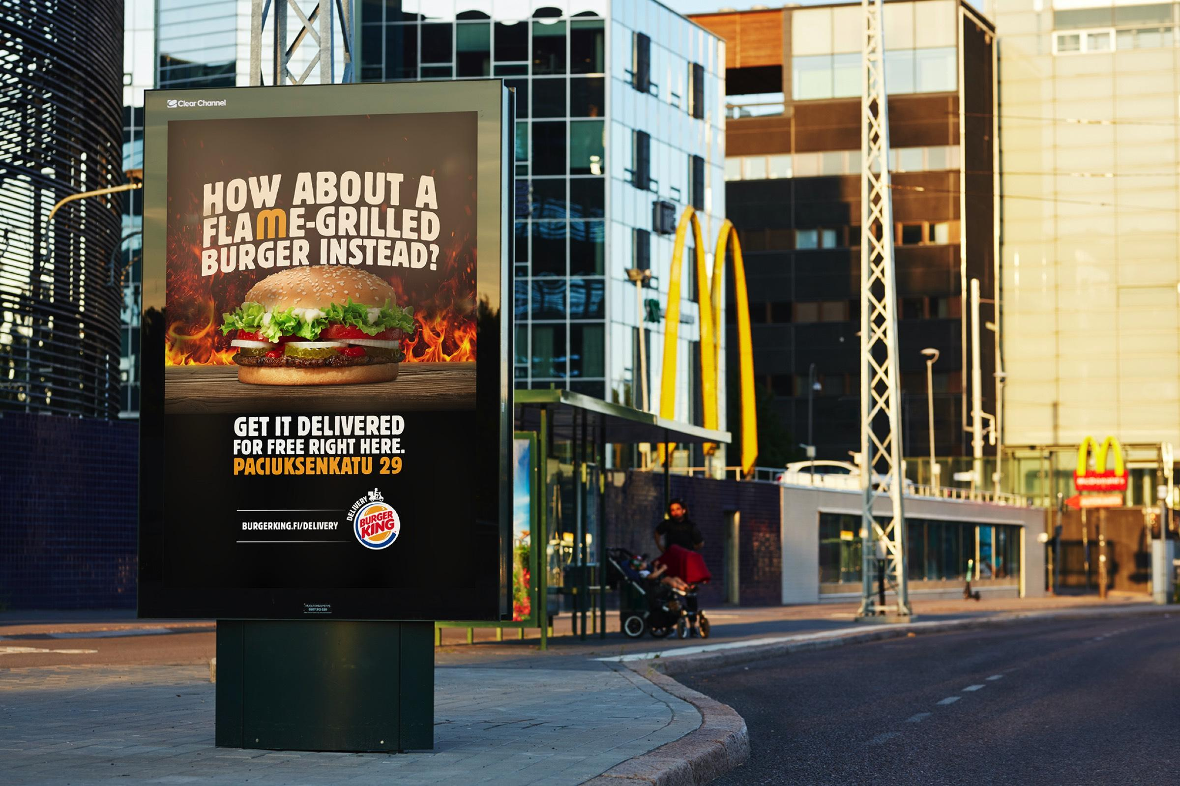 Burger King: A Whopper Instead