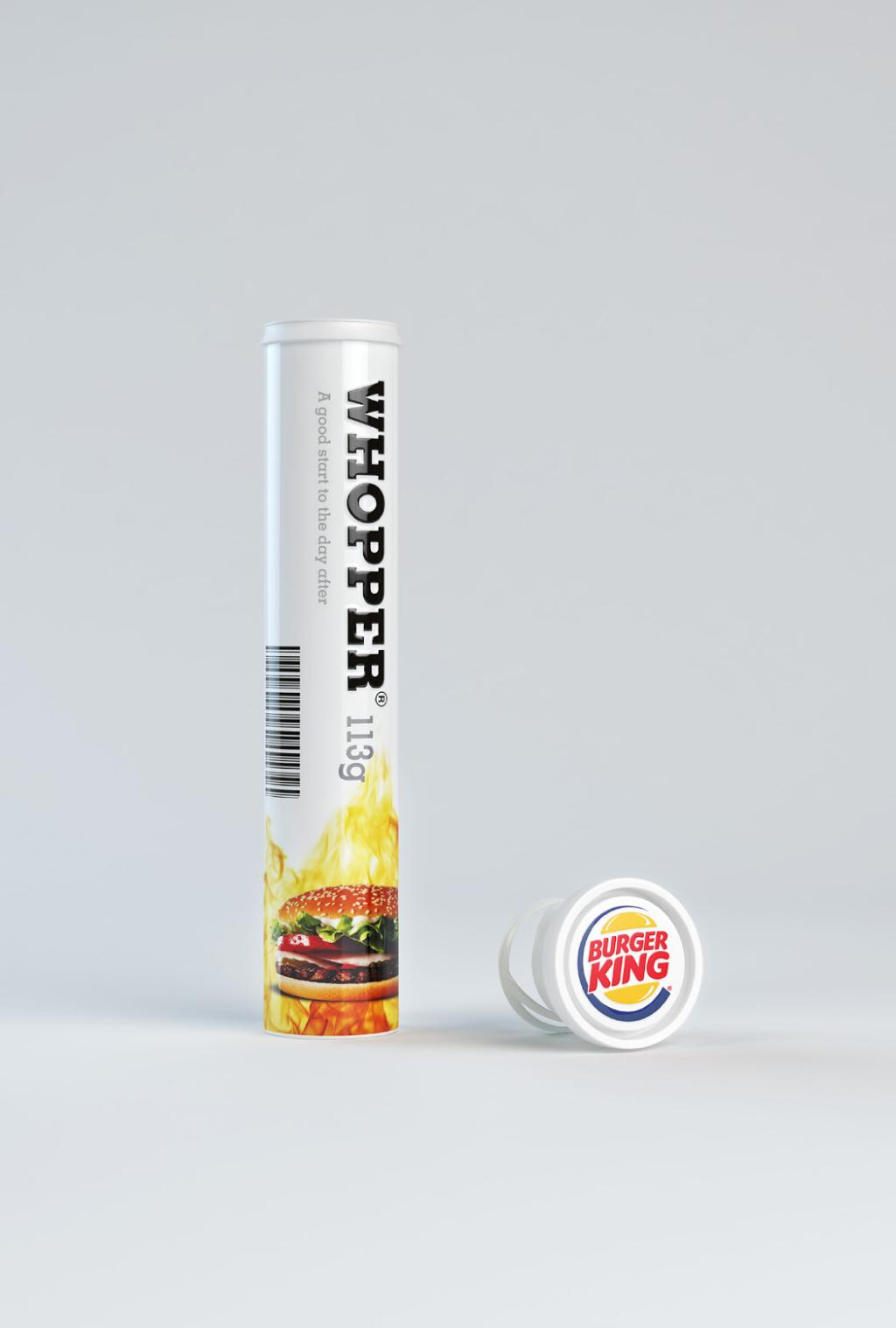 Burger King Print Advert By Shout: The day after | Ads of the World™
