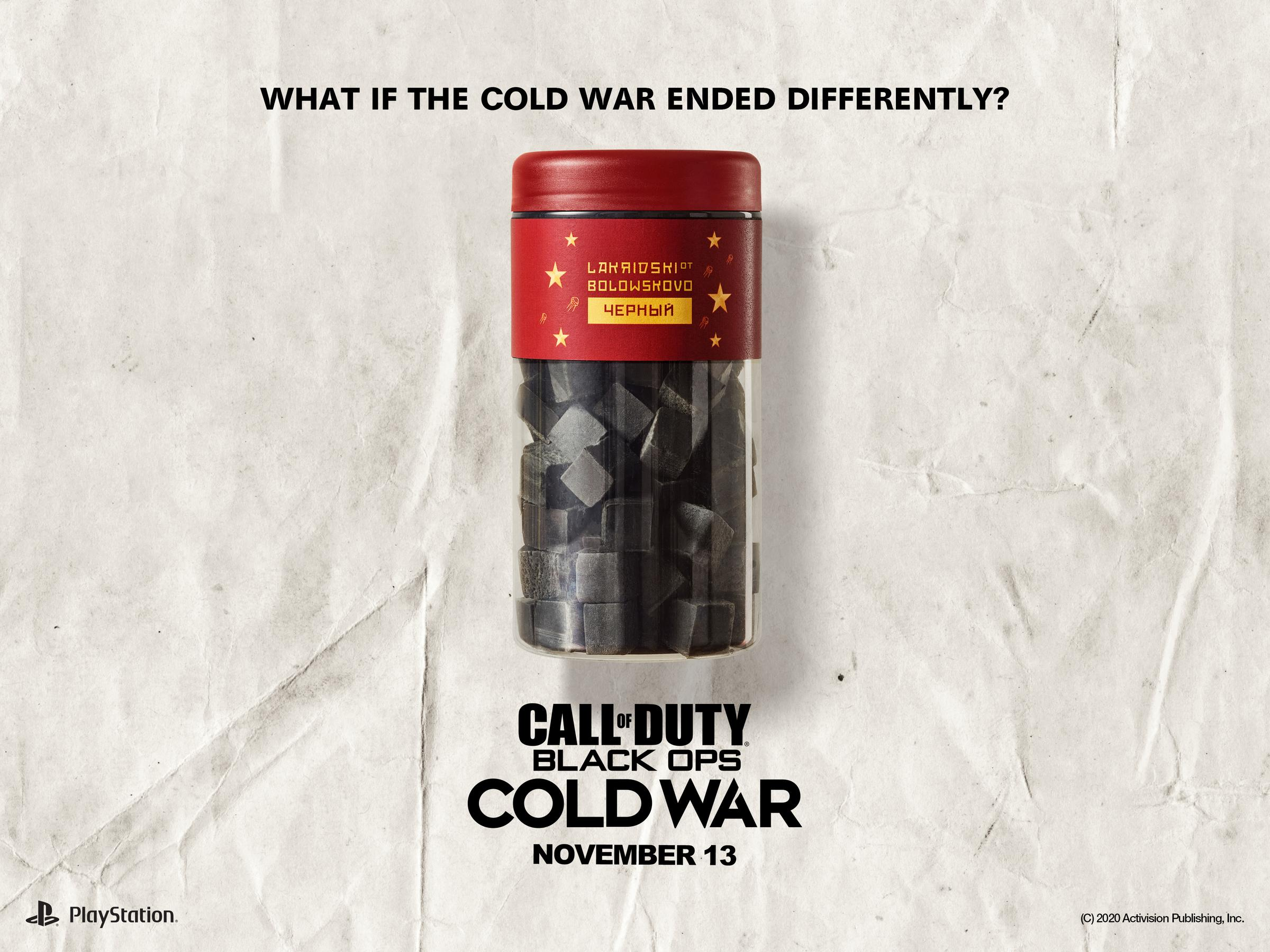 Activision / Call of Duty: What if the Cold War ended differently?