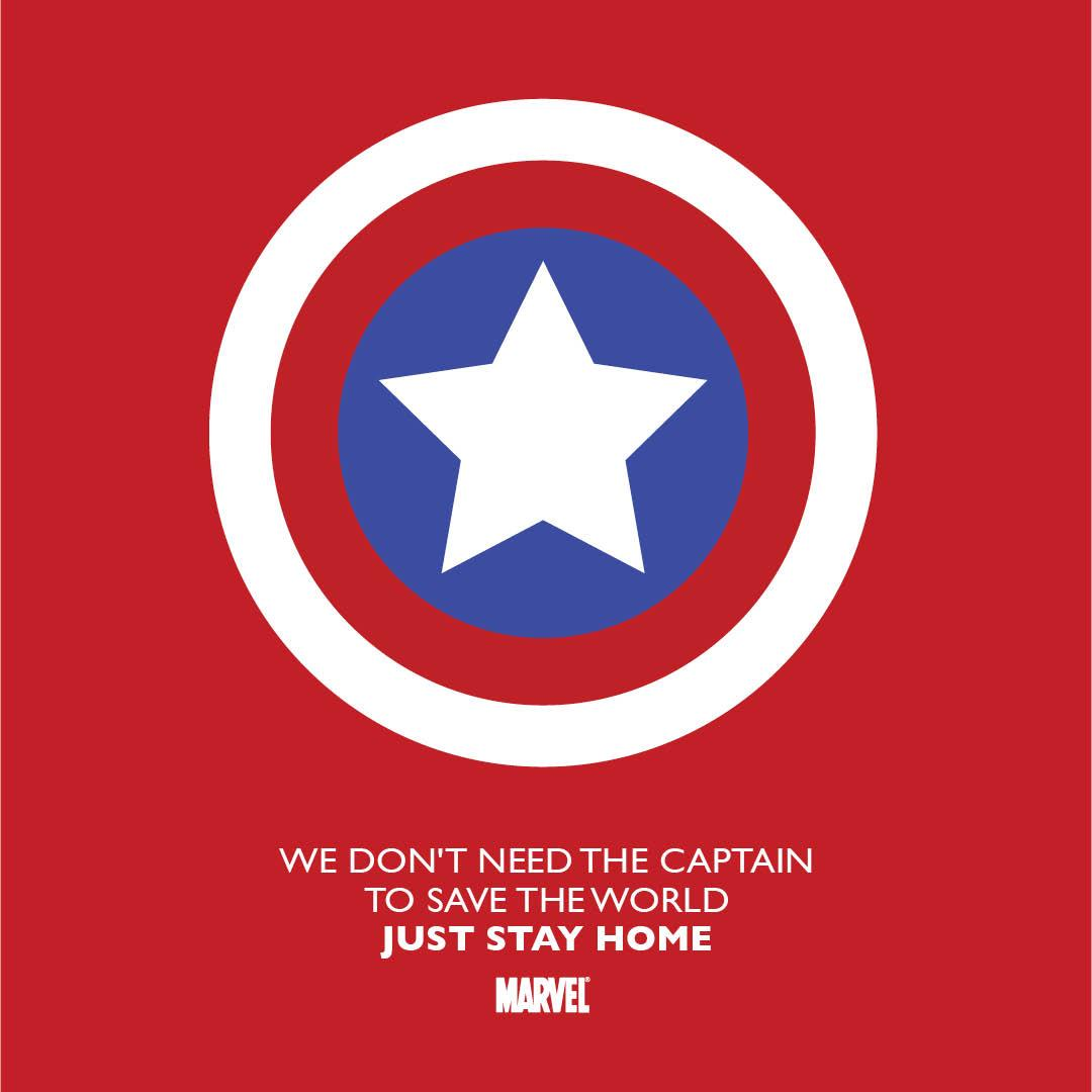 Marvel: Stay Home